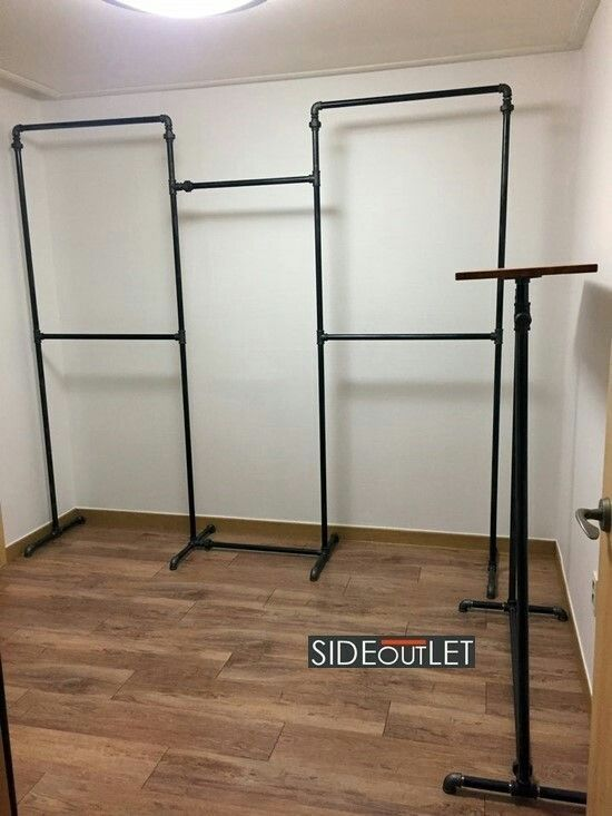 Dress Room System Hanger Construction Construction Made By Sideoutlet Contact Clothing Rack Bedroom Diy Closet Diy Clothes Rack