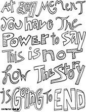 Courage Quotes Lots Of FREE Coloring Pages With Words Designs Everything