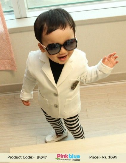 e9c4599014d8 Kids Party Wear Blazer - Baby Boy White Jacket, Designer Toddler Boy Coat, Kids  Winter Jacket, Children Full Sleeves Jacket, Kids Fashion Style 2016, ...