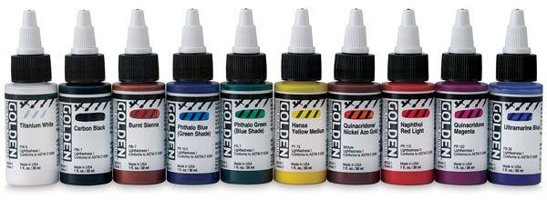 High Flow Colors, Set of 10