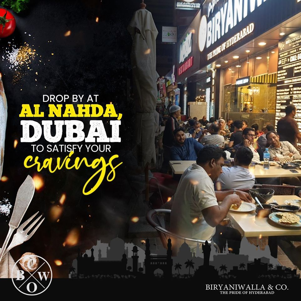 If You Are In Al Nahda Dubai Then It Is A Must For You To Drop By At Biryaniwalla Co To Savor Authentic Desi Delights Biryani In 2020 Dubai Savor