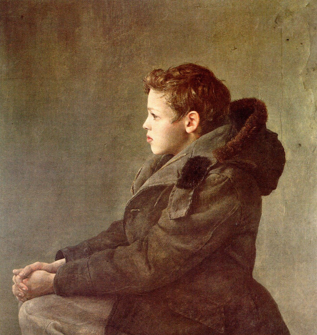 In Your Head.   Andrew Wyeth   Andrew wyeth paintings ...