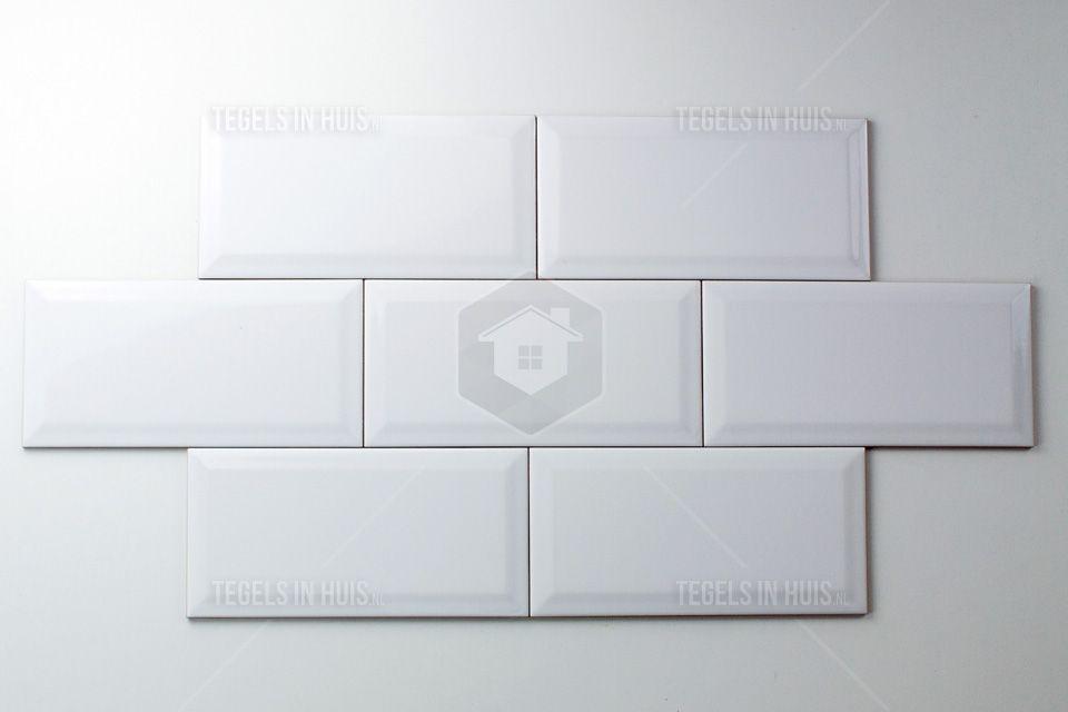 Metro Tegel Wit : Wandtegel metro wit glans bestel je eenvoudig bij tegels in