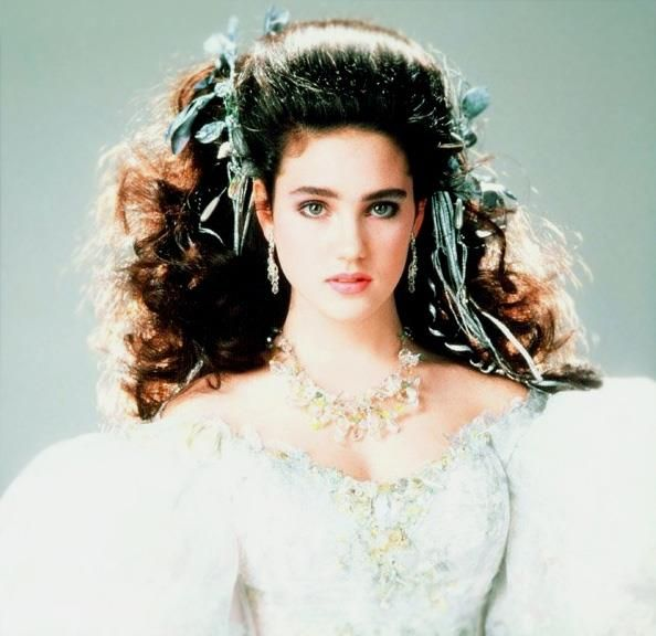 Jennifer Connelly as Sarah Williams | Labyrinth movie ... Labyrinth 1986 Sarah