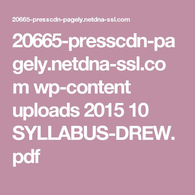 Syllabus Template  Nd Grade Plans    Syllabus Template