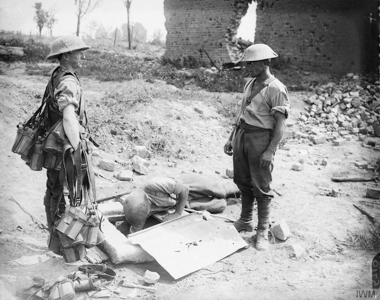 Image result for ww1 british soldier with water bottle