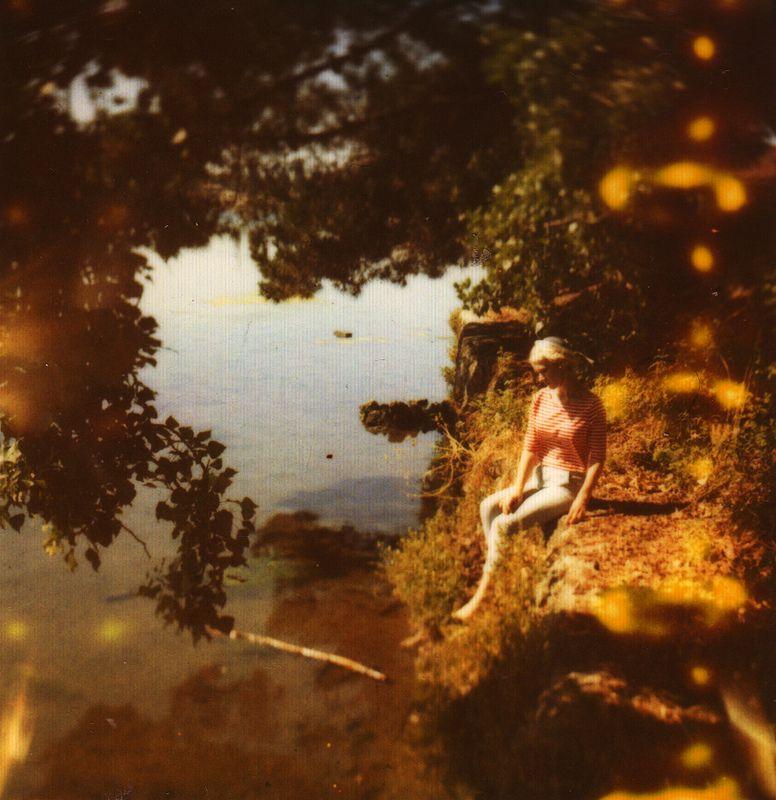 Photojojo! • Fascinating textures in these expired Polaroid...