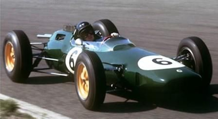 Jim Clark Wins The 1963 Mexican Grand Prix Driving A Lotus Climax