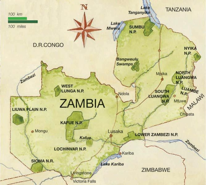 Zambia re-calibrated to new earth resonances on 11 February 2014 - new world map of africa
