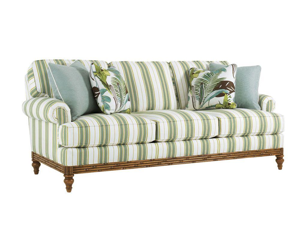 Tommy Bahama Home Living Room Golden Isle Sofa 1604 33 Royal Furniture And Design Key West Florida Keys Marathon Largo