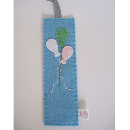 Little Wilds: Felt bookmarks