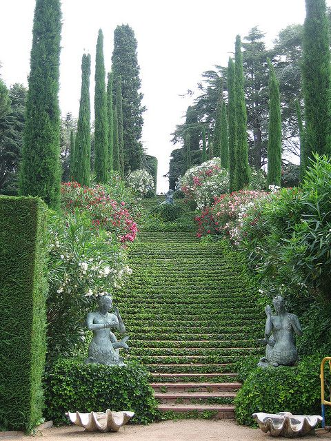 Lloret De Mar Jardines De Sta Clotilde Avec Images Escalier