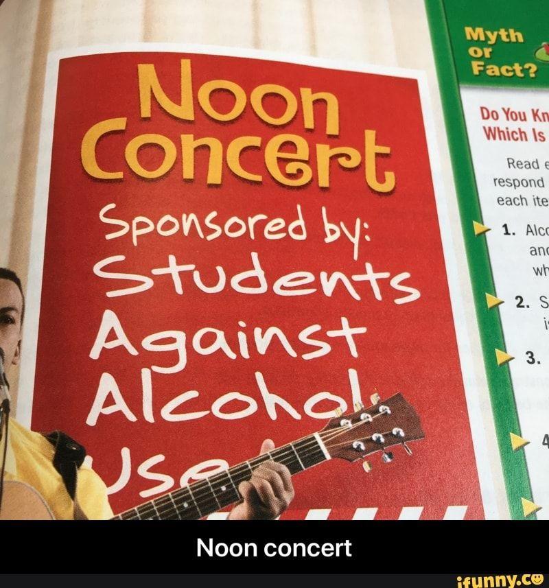 Meme memes 63qZJMZ27 — iFunny Noon concert - Noon concert – popular memes on the site