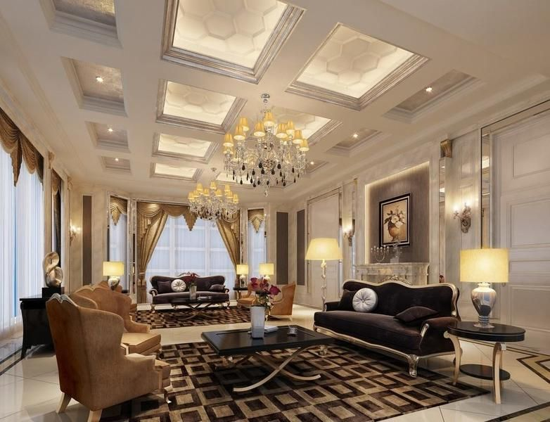 Neo classic style interior designs classic design house for Classic chic home interior design digest