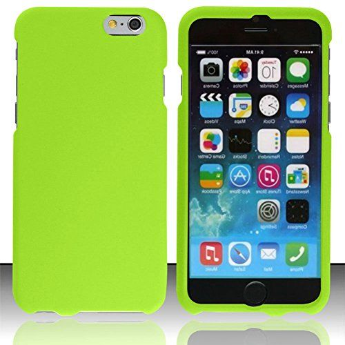 """myLife Spring Lime Green {Sleek Slim Modern} 2 Piece Snap-On Rubberized Protective Faceplate Case for the NEW iPhone 6 (6G) 6th Generation Phone by Apple, 4.7"""" Screen Version """"All Ports Accessible"""" myLife Brand Products http://www.amazon.com/dp/B00U0MF1PW/ref=cm_sw_r_pi_dp_wfhfvb0G17RRX"""
