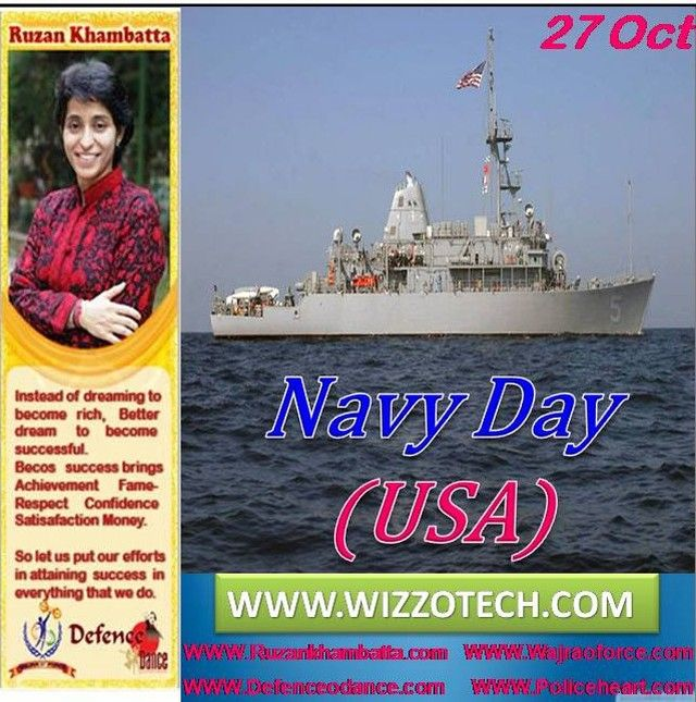 Navy Day Usa Navy Day Is The Original Day To Celebrate The U S Navy And Though This Celebration Officially Was Replace World Days International Day