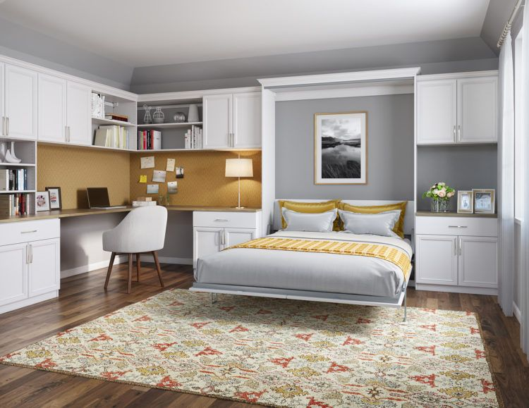 10 Space Saving Bed Alternatives You Should Try With Images Guest Bedroom Office