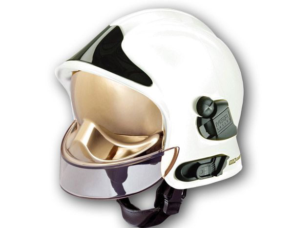 Another View Of The Msa Gallet F1 Only In White Gallet Fire Helmet Space Bombeiro