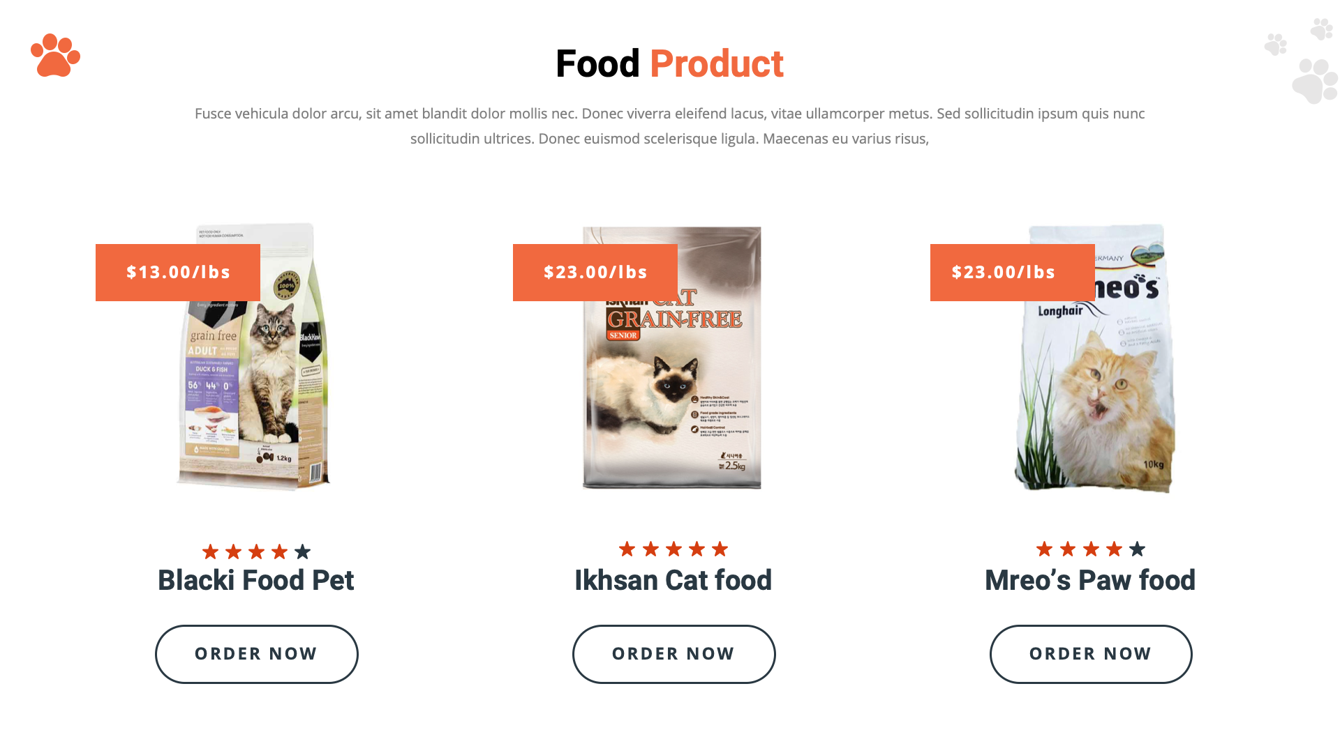 Kitty Cat Animal Keynote Template Pets Cats Kitty Food Animals