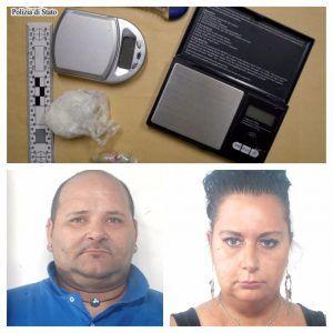Arrestati due coniugi nisseni per detenzione ai fini di spaccio di eroina