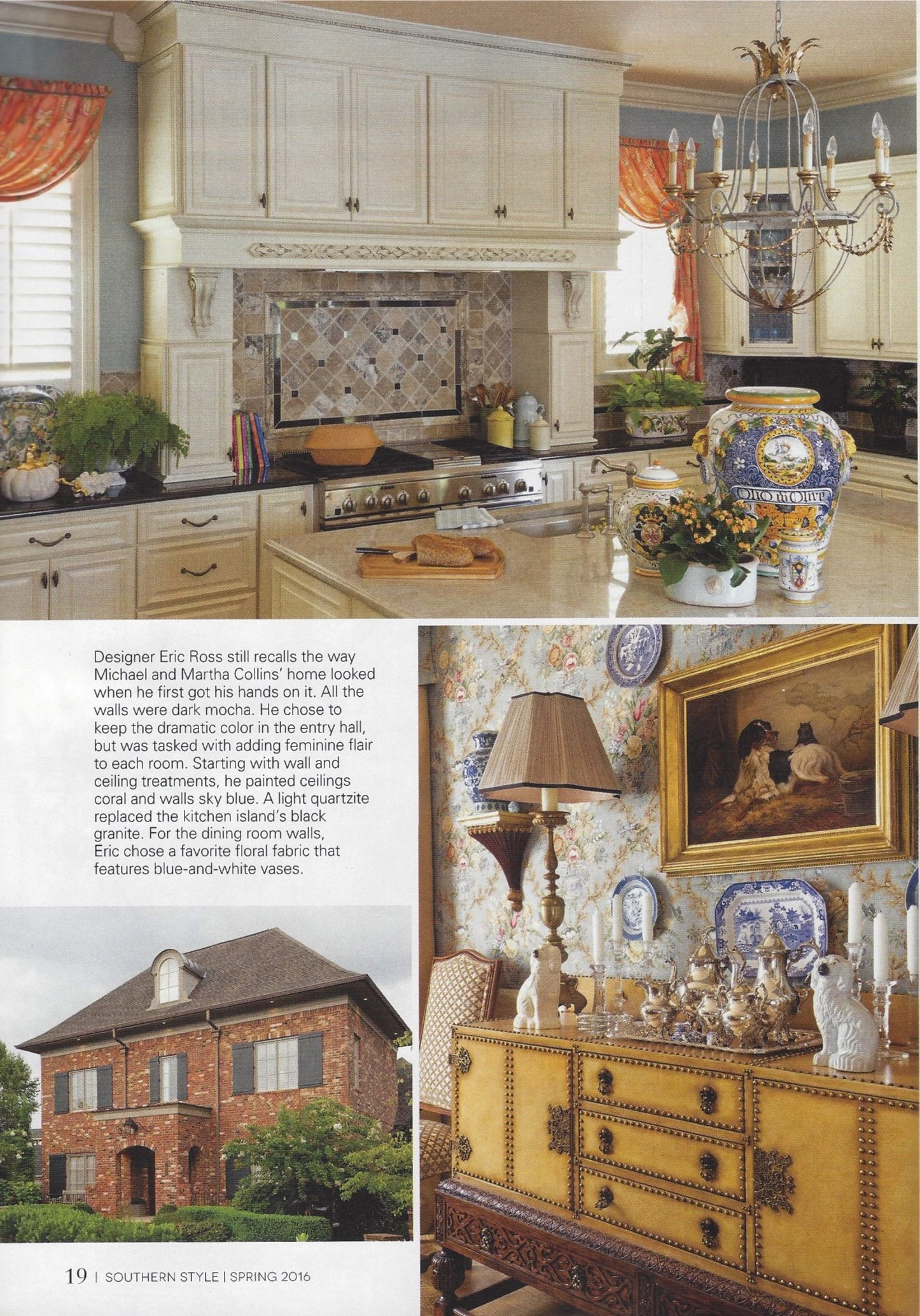 The Kitchen Dining Room And Front Exterior Design By Eric Ross