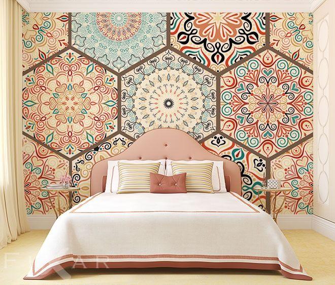 Der Orient im Ornament Fototapete fürs Schlafzimmer Pinterest - fototapete für schlafzimmer
