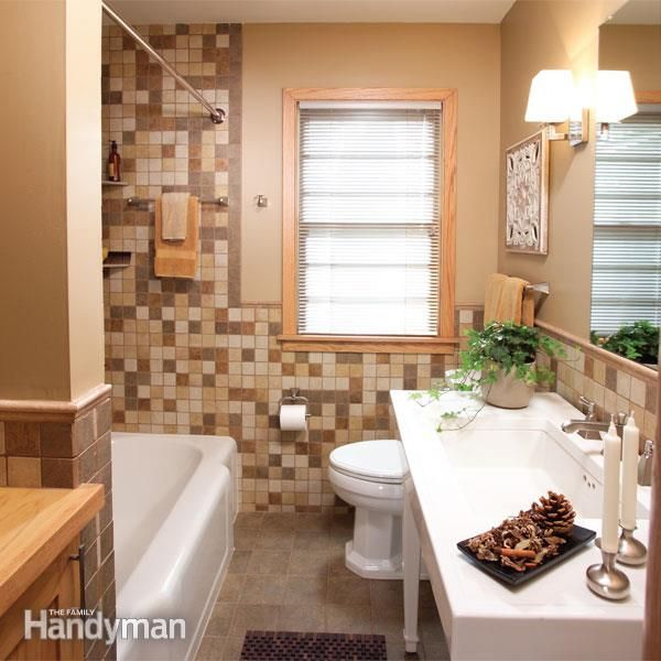 A Bathroom In The Basement Adds A Lot Of Value To A Finished Basement Here S How To Plumb The Bathroom Yours Bathrooms Remodel Mold In Bathroom Small Bathroom