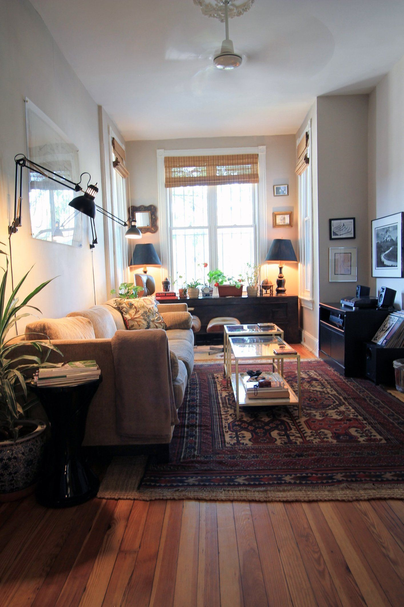 Jenia & Sergey's Victorian Row House | Victorian living ...