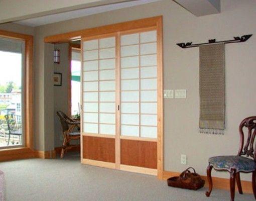 Puerta japonesa idee maison pinterest Puertas japonesas