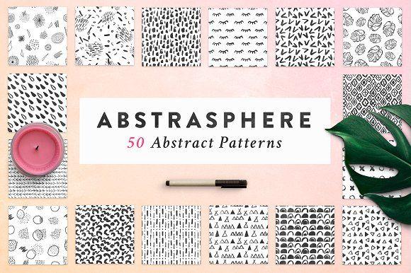 50 Atmosphere Seamless Patterns by Eskimo Creative on @creativemarket