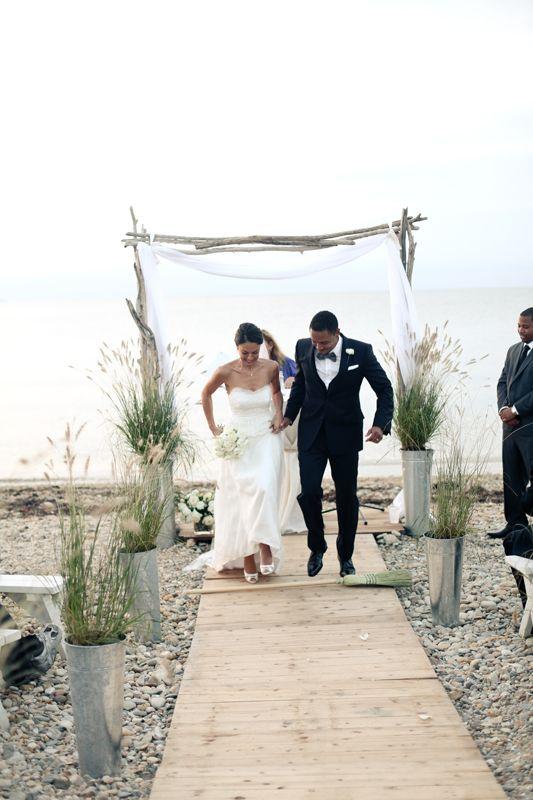 Beautiful Montauk Beach Wedding Stylish Hip Weddings Photography Brooklyn Ny