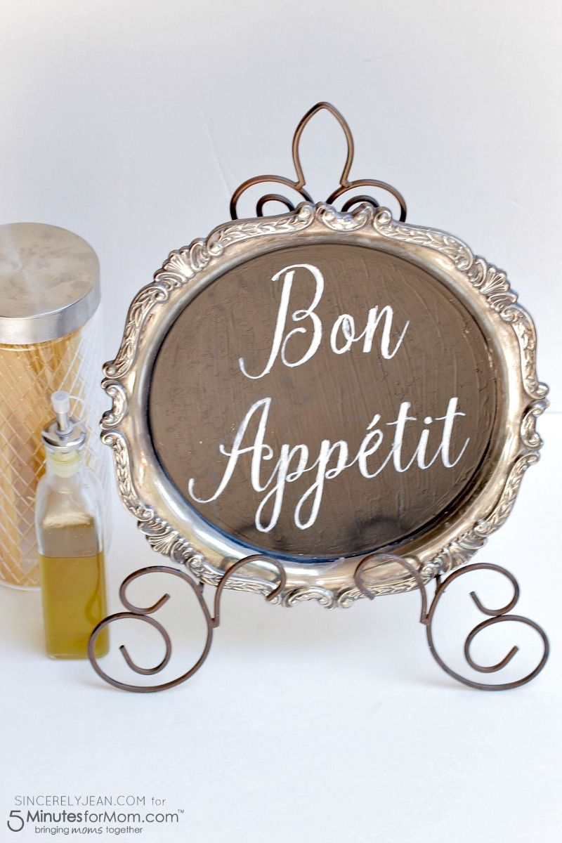 DIY Bon Appetit Kitchen Sign