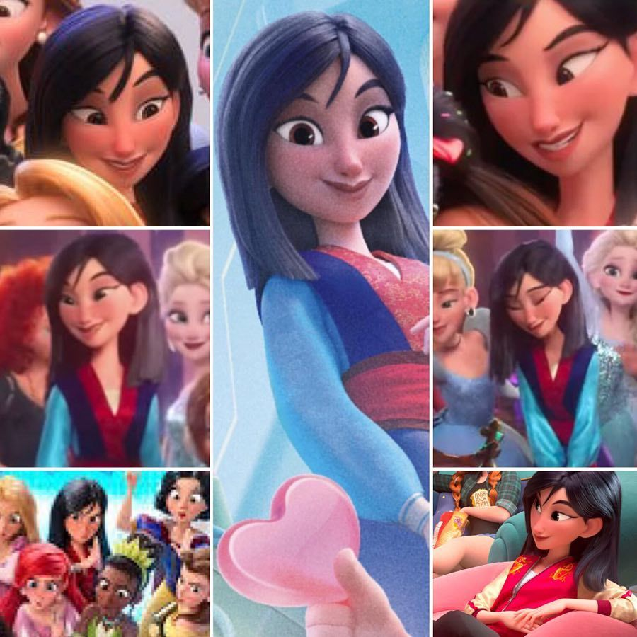 In One Week Mulan S Gonna Wreck It It S The Final Countdown To Ralph Breaks The Internet What Are Disney Princess Fan Art Disney Rapunzel Mulan