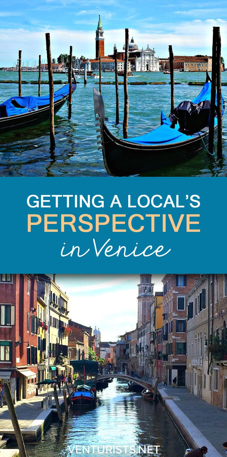 Getting a Local's Perspective in Venice