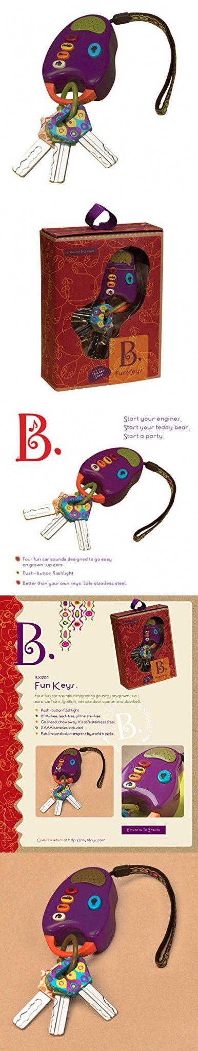 Baby & Toddler Toys B Funkeys Lights & Sounds Toy Keys for