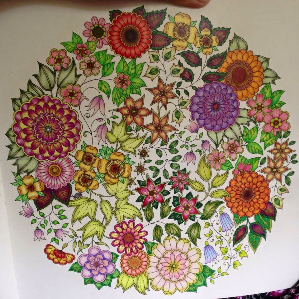 Johanna Basfords Secret Garden Prismacolor Premier