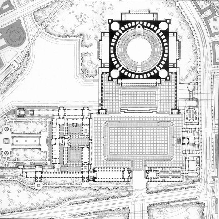 Die Große Halle (also Ruhmeshalle Or Halle Des Volkes