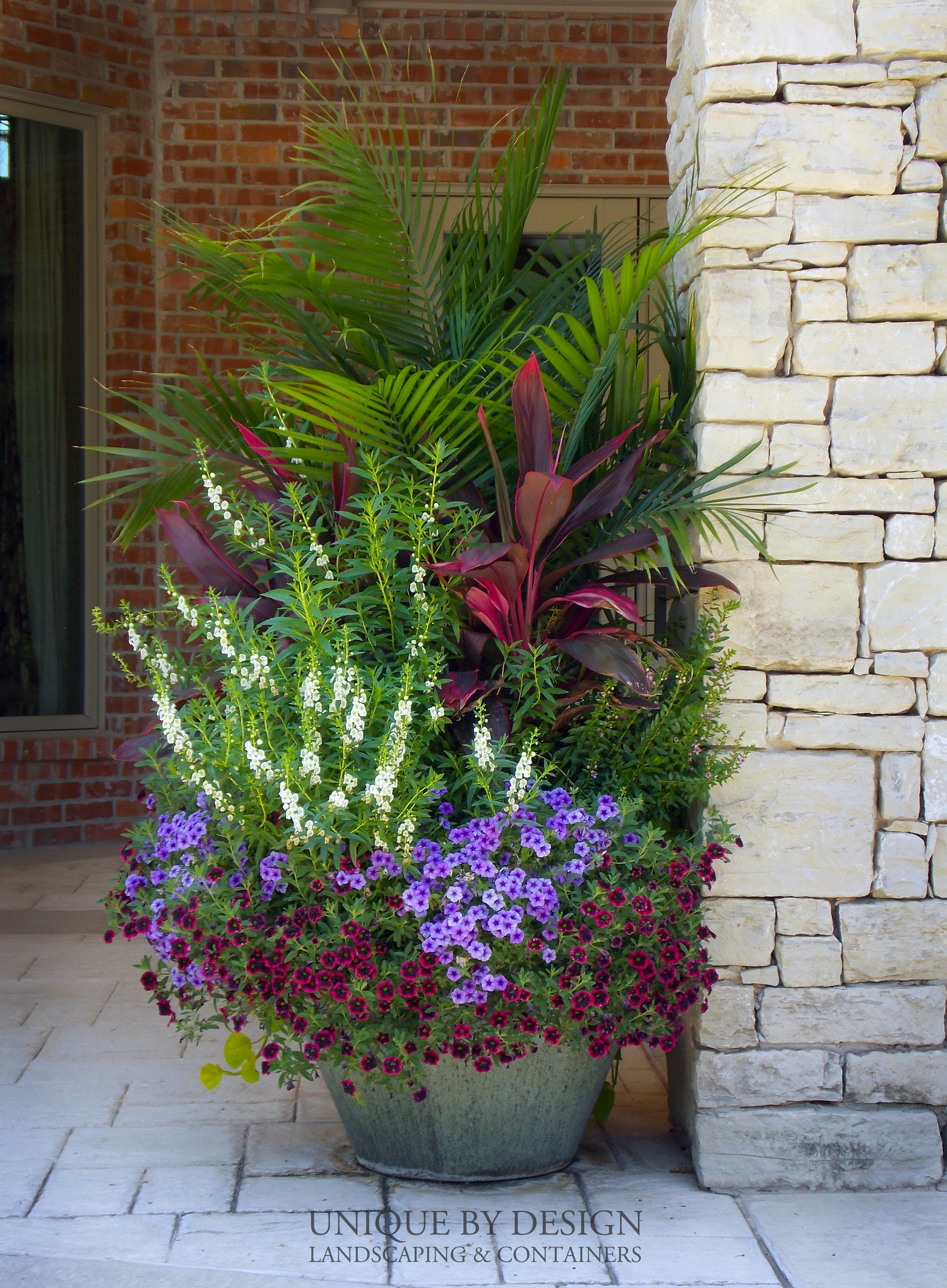 Unique Outdoor Flower Pots Unique By Design L Helen Weis Great Gardens Ideas Pinterest
