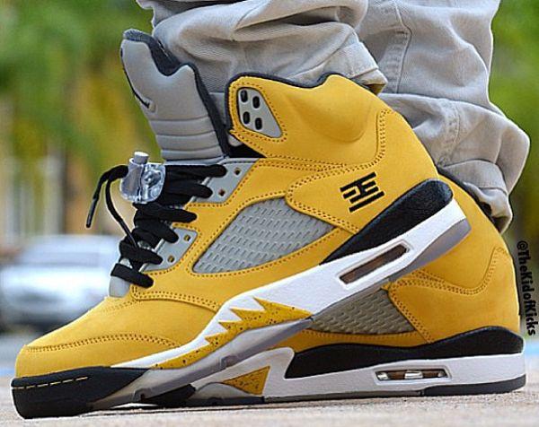 f39ac9035423 Plus de 30 photos de Air Jordan 5 portées pour vous aider à bien mettre en  valeur votre paire.