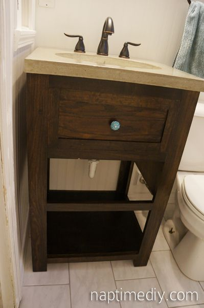 Diy Bathroom Vanity Plans Google Search Home Projects