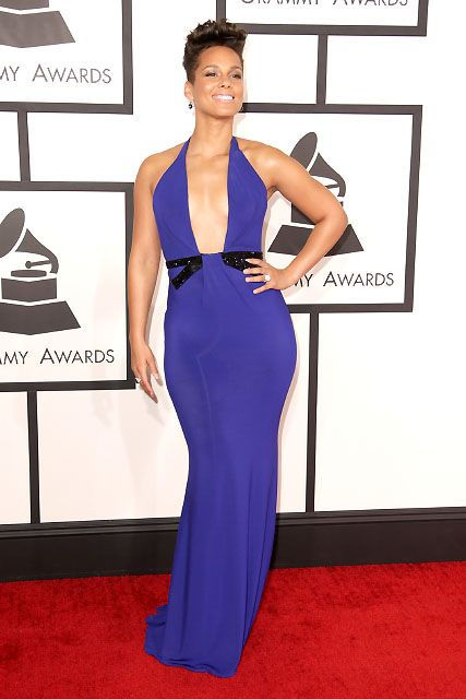 Alicia Keys  - Giorgio Armani veste la 56sima edizione dei Grammy Awards