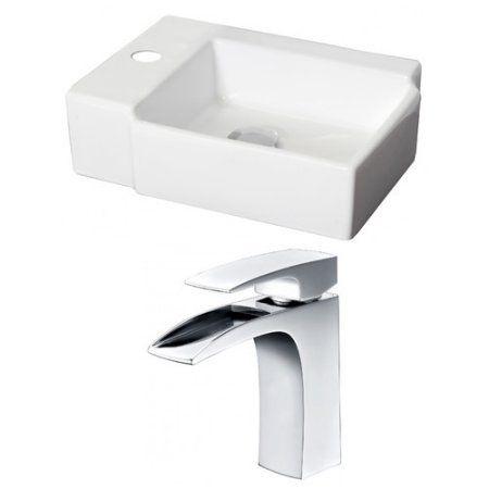 American Imaginations Rectangle Vessel Sink