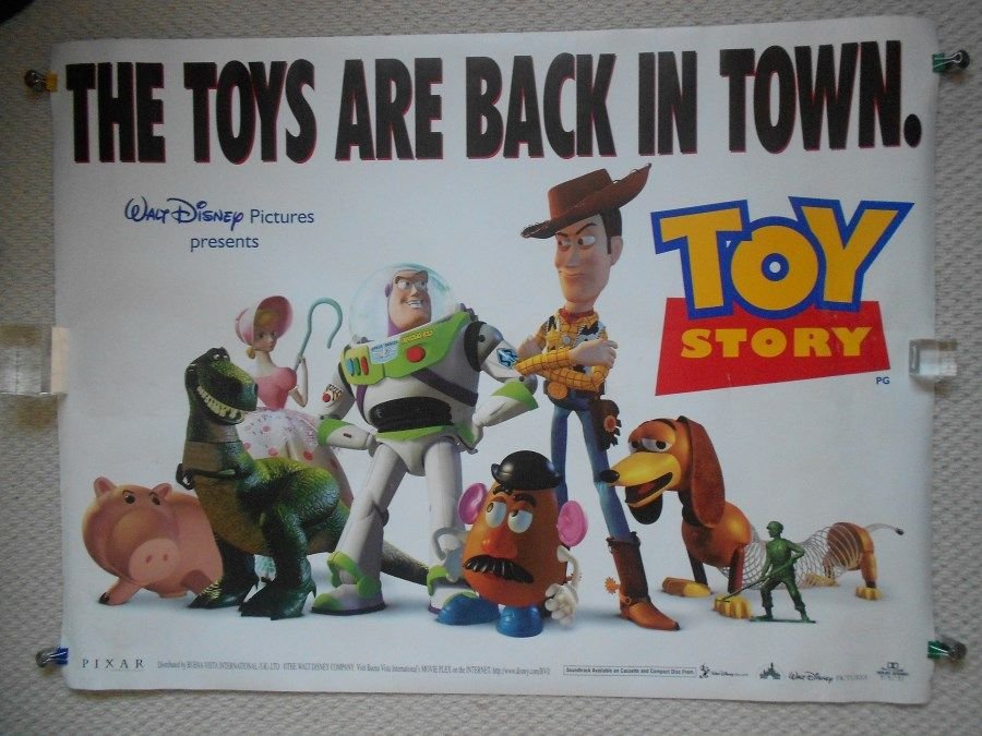 1995 Movie Posters: Toy Story 1995 Poster - Google Search