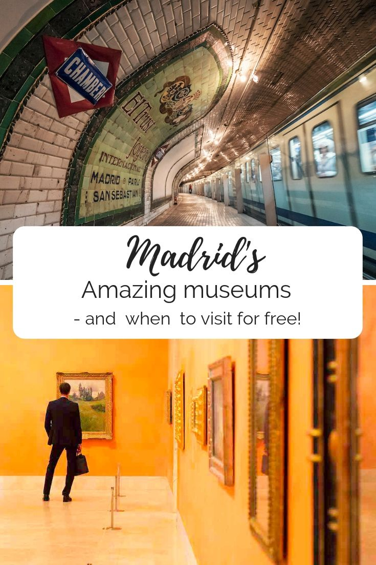 Madrid's amazing museums – and when to visit for free #spanishthings