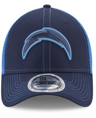 online retailer 9239d e0a61 New Era Los Angeles Chargers Pop Flect 39THIRTY Cap - Blue L XL