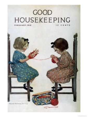 Good housekeeping, february 1918 giclee print