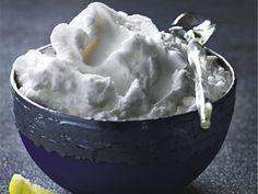 Lemon sorbet | Zitronensorbet http://www.gf-luxury.com/eis-rezept-zitronensorbet.html