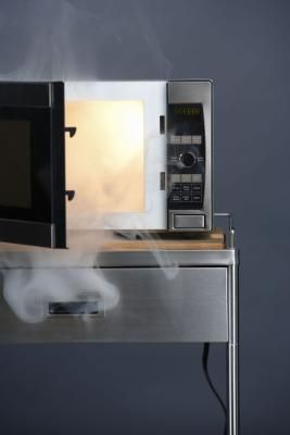 How To Get Rid Of A Melted Plastic Smell In The Microwave Melted