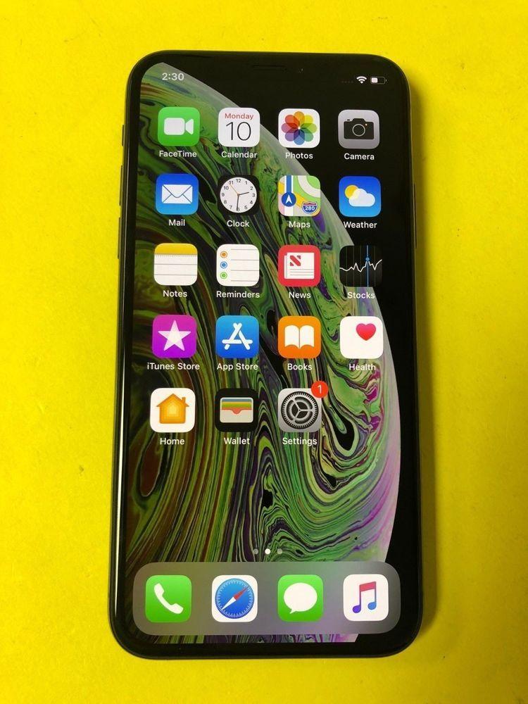Apple Iphone Xs 512gb Space Gray Verizon Unlocked