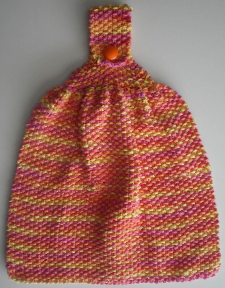 Textured Dish Towel By April Moreland Free Knitted Patt